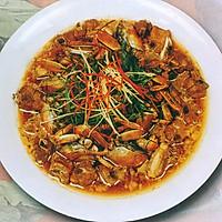 宴客体面菜·排骨炖河蟹的做法图解4