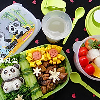 期待春天——熊猫便当的做法图解20