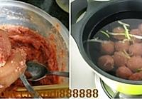 澳洲羊肉冬瓜丸子汤的做法图解4
