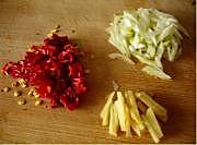 雪菜肉丝的做法图解2