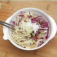 紫甘蓝拌豆腐丝的做法图解8