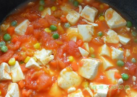 茄汁豆腐的做法 茄汁豆腐怎么做 茄汁豆腐的家常做法 美食谱