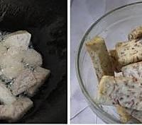香芋小炒肉的做法图解2