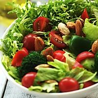 满园春色关不住-----杏仁蔬菜沙拉的做法图解3