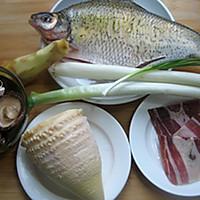 火腿蒸鳊鱼的做法图解1