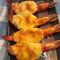 黑胡椒奶酪焗虾的做法图解7