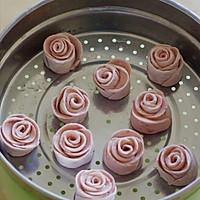中式面点也浪漫 —— 情人节专供的浪漫玫瑰小花卷的做法图解9