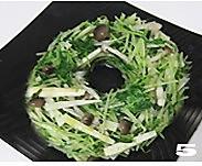 鲜蔬鸟巢的做法图解5