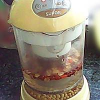 红枣枸杞豆浆的做法图解2