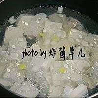 青菜豆腐汤的做法图解5