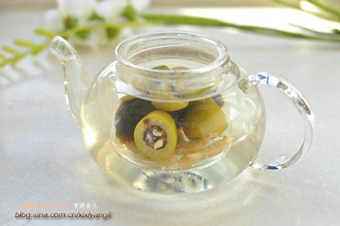 檀香橄榄麦冬绿茶的做法步骤