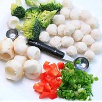 鱼丸芋艿的做法图解1