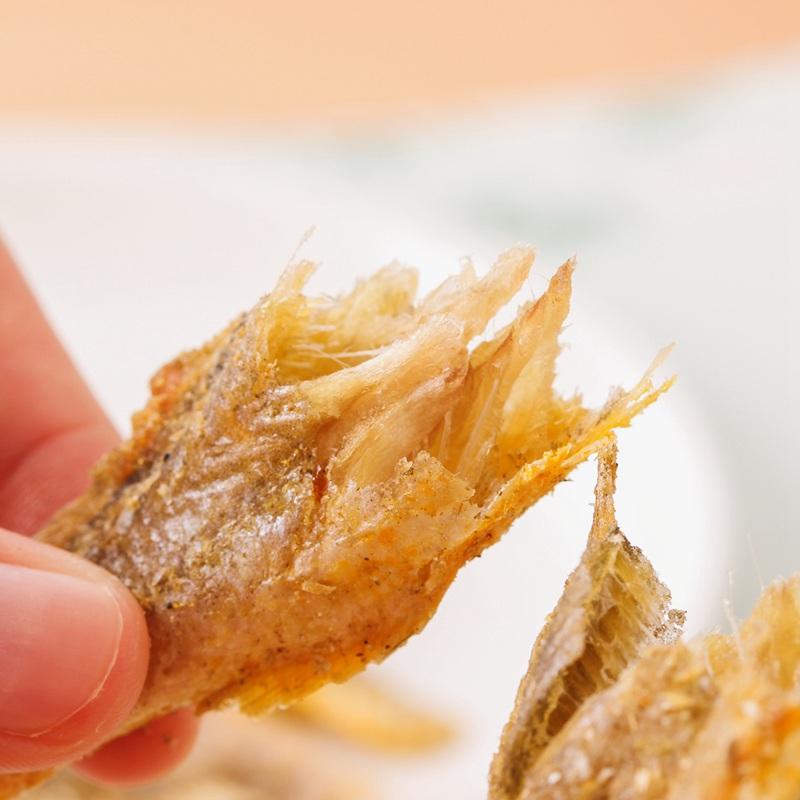 味BACK 青岛香酥小黄鱼 130g/袋