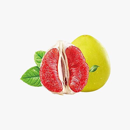 十记庄园 福建平和琯溪红肉蜜柚柚子2个 单果1000-1250g 肉质微酸清甜爽口好吃 共4-5斤