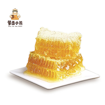 蒙面小熊蜂蜜 俄罗斯进口椴树雪蜜 400g/瓶