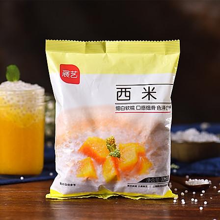 展艺白西米 300g 椰浆西米露奶茶甜点水晶粽子原料