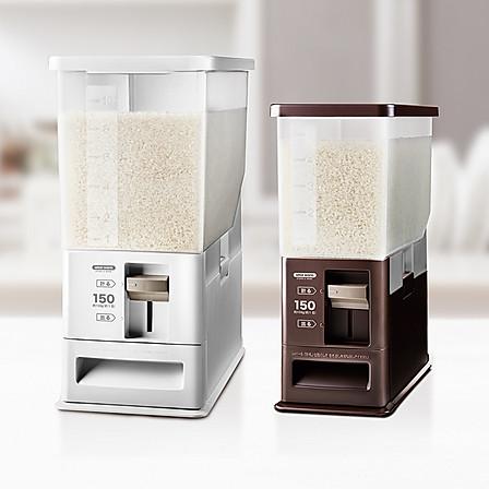 ASVEL|可计量自动出米箱白色6L (6L/12L两款规格可选)