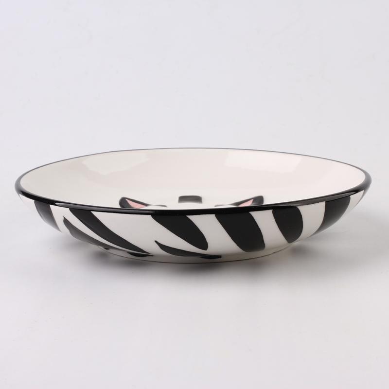【趣玩】纯手绘动物碗组合装-斑马(勺子