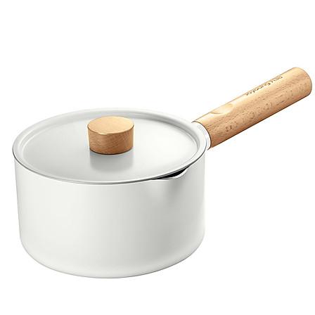 九阳(Joyoung) 16cm奶锅汤锅加深型辅食锅轻奢榉木手柄