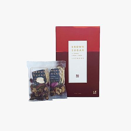 自然度 人参黑糖姜枣茶礼盒25g*10小袋
