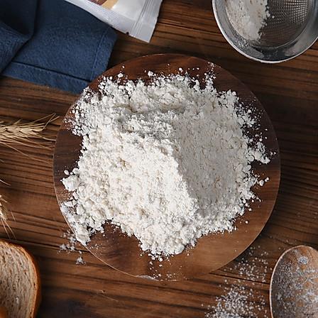 百钻中筋面粉 5斤 中式面点包子馒头饺子蛋黄酥小麦粉